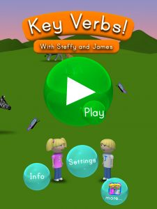 A review of the app Key Verbs and GIVEAWAY!!