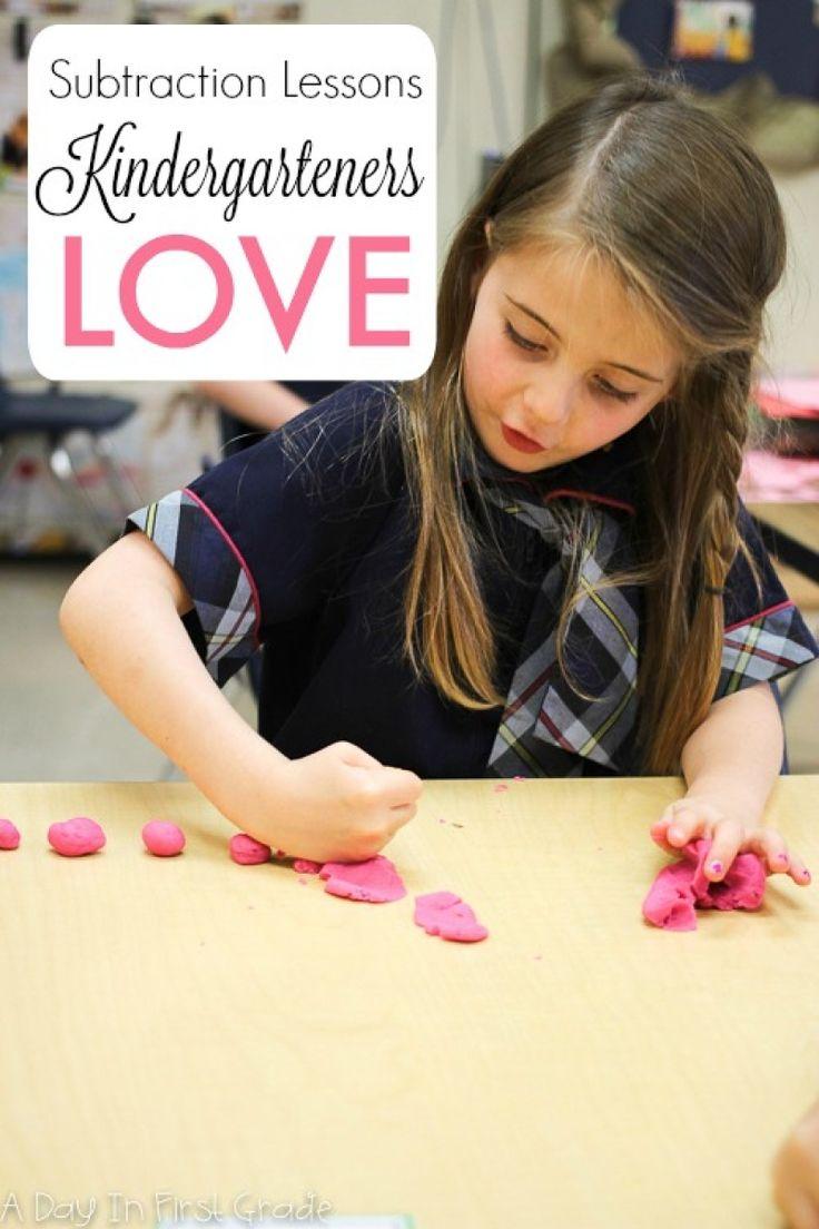 Subtraction Lessons Kindergarteners Love