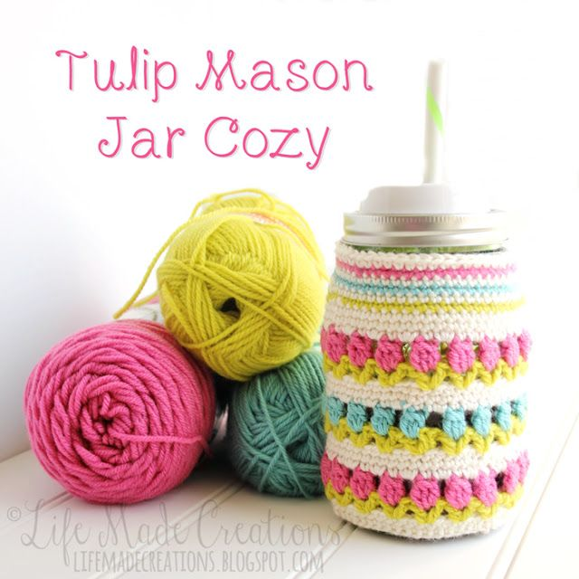 ... crochet jar or candle covers on Pinterest Jars, Jar lids and Owl
