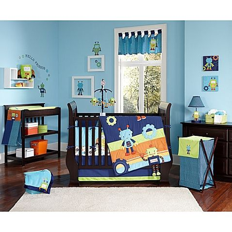 NoJo® Baby Bots Crib Bedding Collection