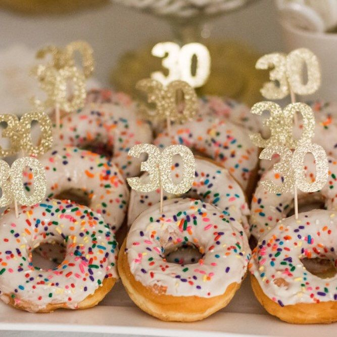 30th birthday donut bar! Love this idea                               …  Please contact me if you are looking for a DJ https://www.djpeter.co.za, Photo booth https://www.photobooth.durban, LED Dancefloor http://www.leddancefloor.info, wedding DJ  https://www.kznwedding.dj/dj, Birthday Party DJ https://www.birthdays.durban or Videobooth  https://www.videobooth.durban for your Product activations, Weddings, Corporate Events ,Functions, Birthday Parties or School Functions