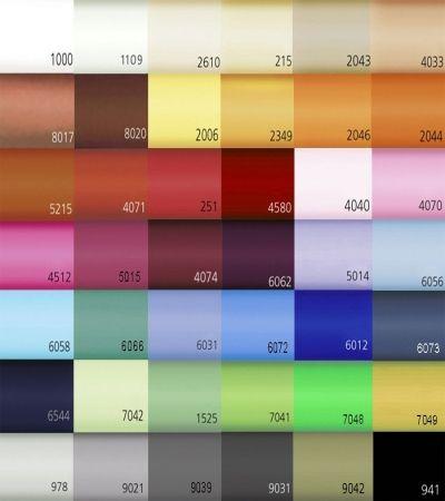 Passend zur Uni Bettwäsche nicht das Kissen in uni vergessen! Z. B. als 40x80 Kopfkissen oder als mittlere Größe in 40x60.