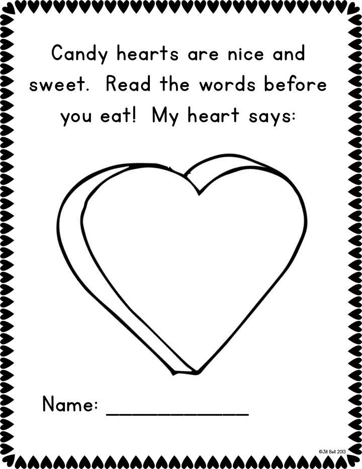 a sample page from one of the class books included in my winter set they - Printable Kindergarten Books