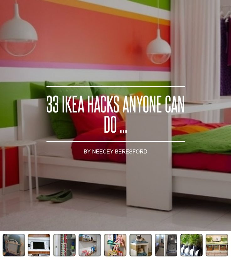 33 Ikea #Hacks Anyone Can do ... - DIY