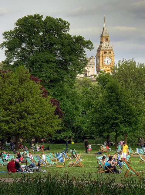 Big Ben - St. James Park, London, UK - May 2, 2009 by Foto di Spalle on Flickr