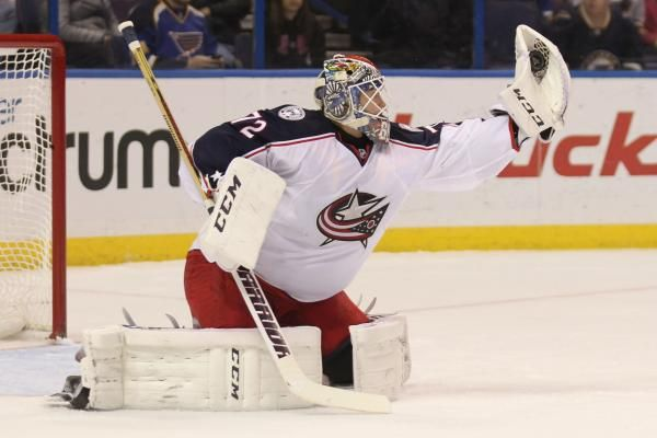 COLUMBUS, Ohio -- Another game, another shutout for Columbus goaltender Sergei Bobrovsky.