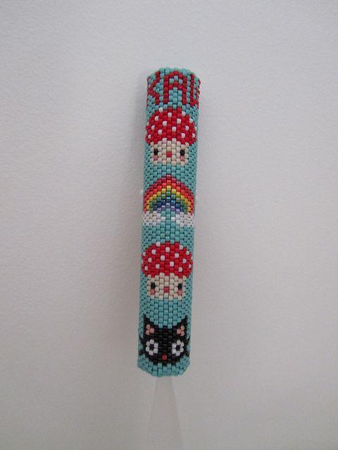 Kawaii Beaded Needle Case | Flickr - Photo Sharing!
