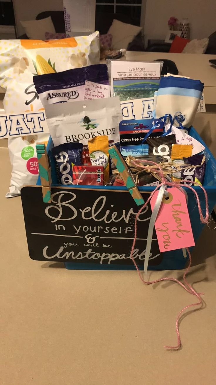 Gift basket theme healthyfitness recovery gifts gift