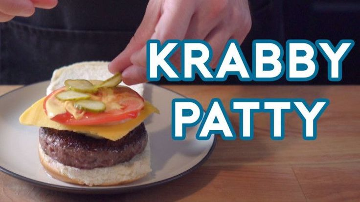 Learn How To Make Spongebob's 'Crabby Patty's'