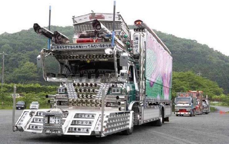 Dekotora Car Dekotora Japanese Radi...
