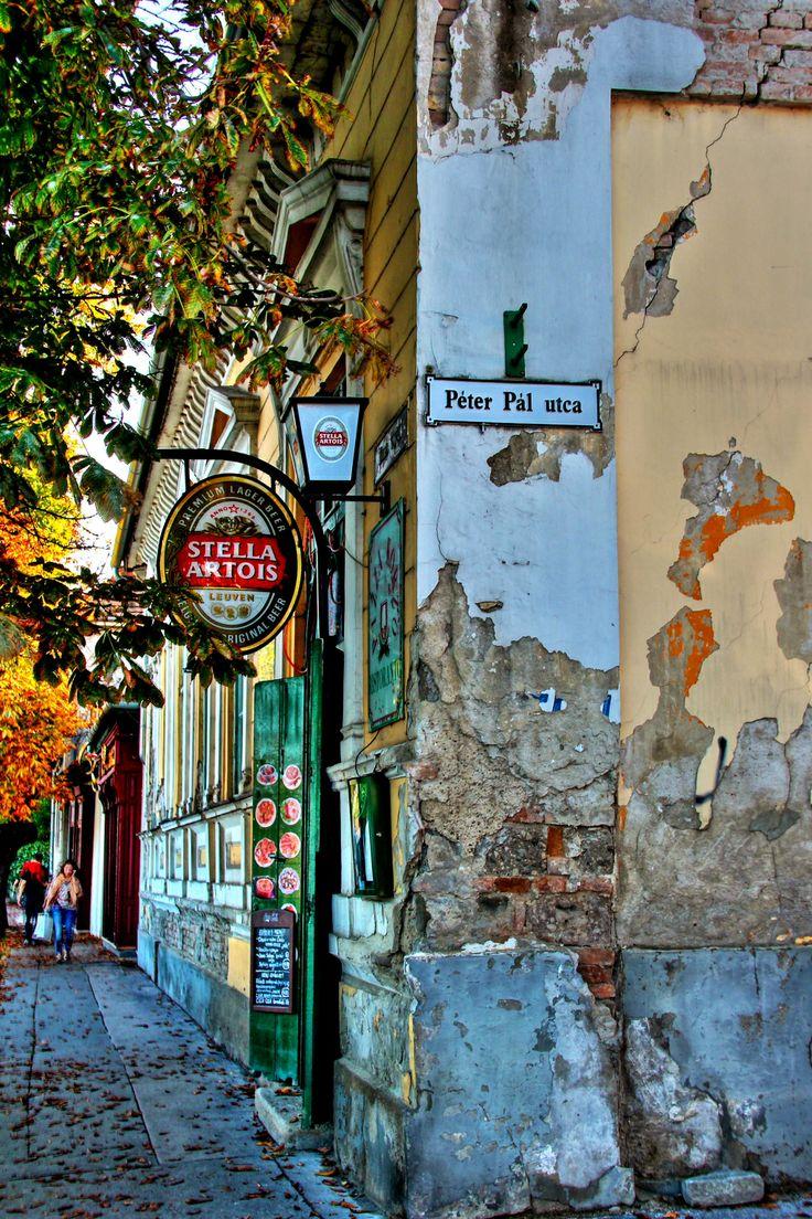 Hungary - street in Szentendre <3