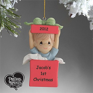 101 best my favorite pmall personalized gifts images on precious moments personalized ornament boy negle Images