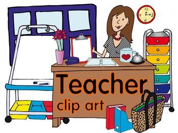 Teacher Clip Art 100png images with our favorite stuff. Download a FREEBIE in the preview!