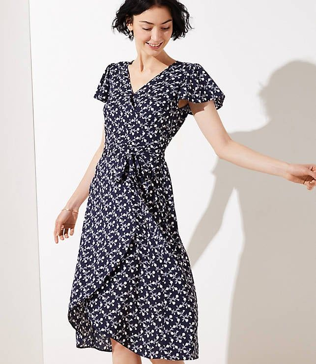 Ditch Your Jeans We Found The 40 Best Travel Dresses For Spring And Summer Wrap Dress Short Spring Wrap Dresses Wrap Around Dress