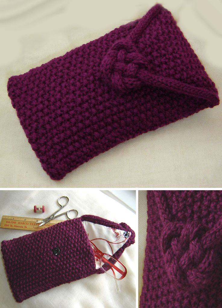 Celtic Heart Knot Knitting Pattern Free : 17 Best images about Knitting Bags on Pinterest Sewing patterns, Bags and L...