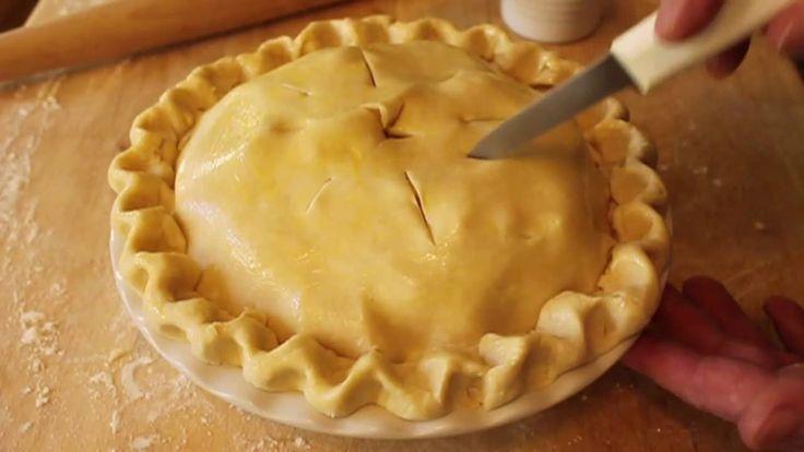 Food Wishes Recipes - How to Make Pie Dough - Pie Crust Recipe