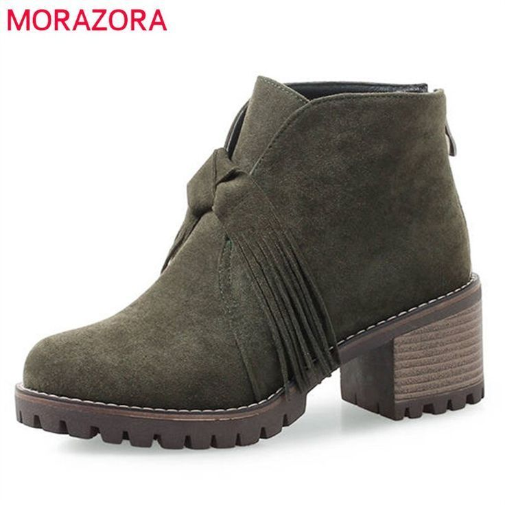 MORAZORA 2020 senaste fotledskor för kvinnor rund tåflock