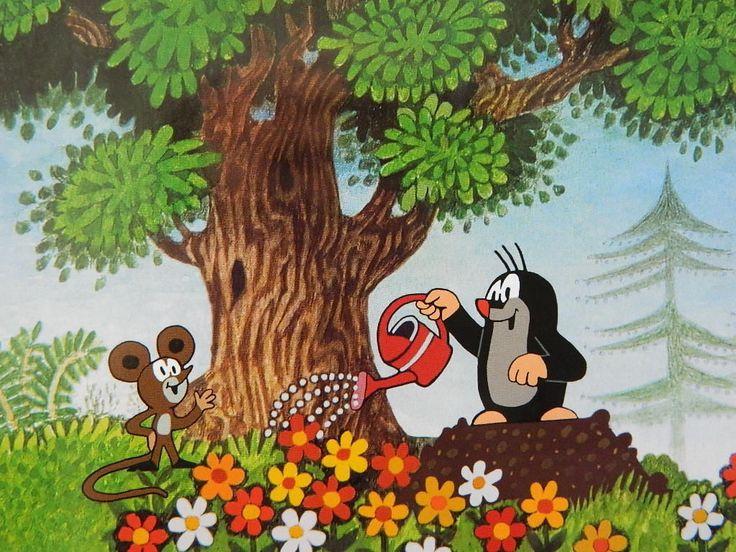 (2015-01) Muldvarpen vander blomster, musen ser på