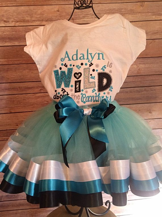 Carolina Panthers NFL football Cheerleader Tutu by SnappyGirls