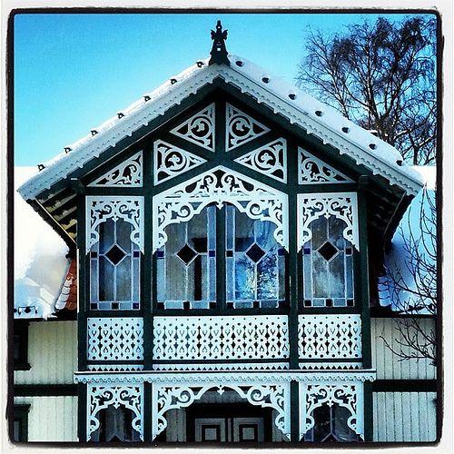 Sveitserstil #sveitserstil #architecture #arkitektur | Flickr - Photo Sharing!