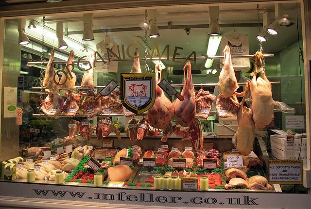 Organic butcher.