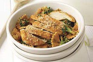 Creamy Bow-Tie Pasta with Chicken and Broccoli Recipe - Kraft Recipes