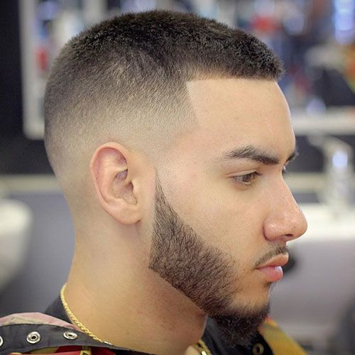Buzz Cut with Shape Up and High Fade