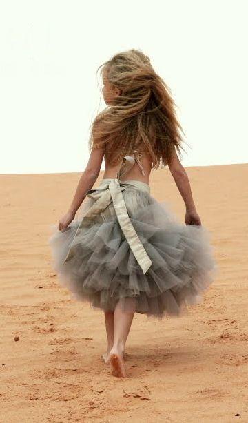 Cute Flower Girl Tutu Skirt