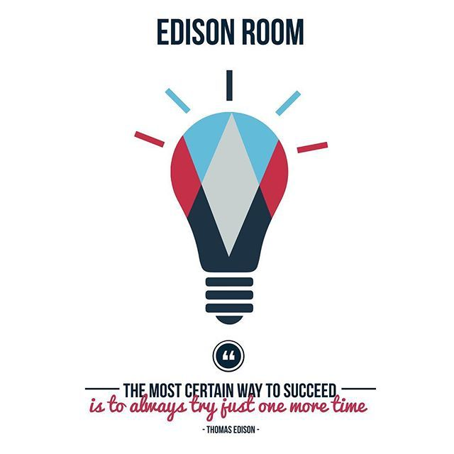 'The most certain way to succeed is always to try just one more time' - Thomas Edison #Edison #success #creativity #dream #design