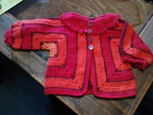Hexagon Sweater Crochet Hexagon Sweater Pinterest