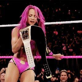 Sasha banks #LegitBoss 4x women's champion