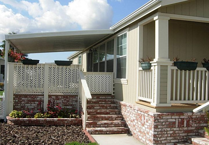 Porch Vs Deck Which Is The More Befitting For Your Home: Outside Porch Manufactured Home