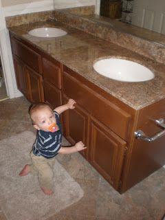 Wild Whitney's: Inexpensive flooring update for $300 bathroom re-do!