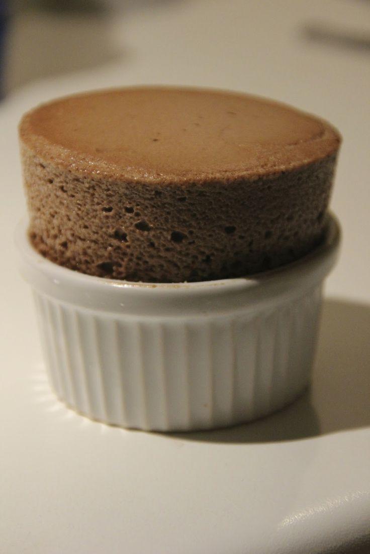 Chocolate Soufflé. Find the recipe here: http://awaytoawomansheart.blogspot.no/2013/01/improved-chocolate-souffle.html