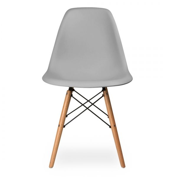 Eames Cool Grey DSW Chair - Cult Furniture