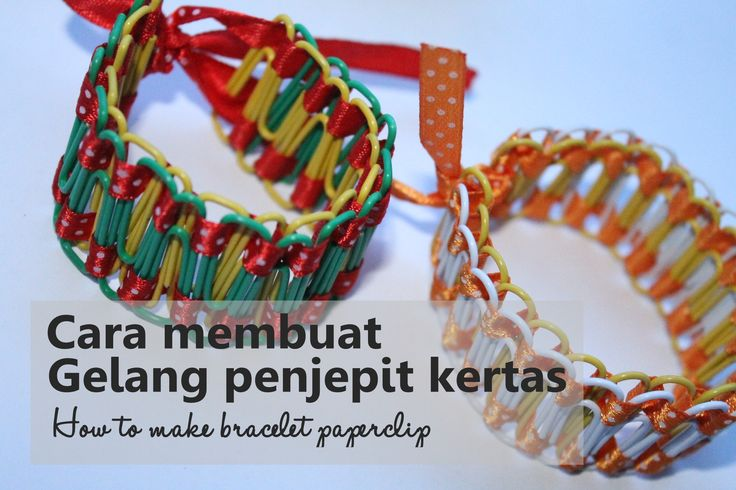 How to make bracelet paperclip