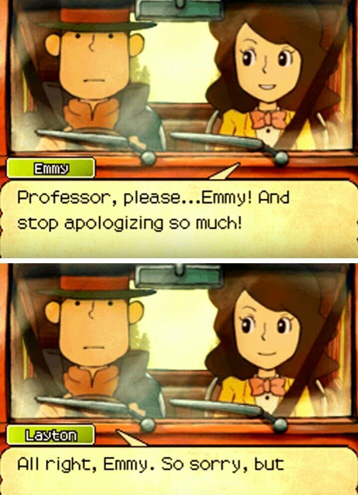 Same Professor Layton, same.