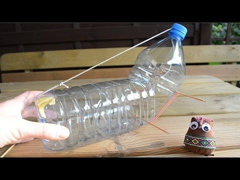 ▶ Homemade mouse trap - simple humane rat trap.  I like this idea so when I shoot the trap with a shotgun it is easy to make another.