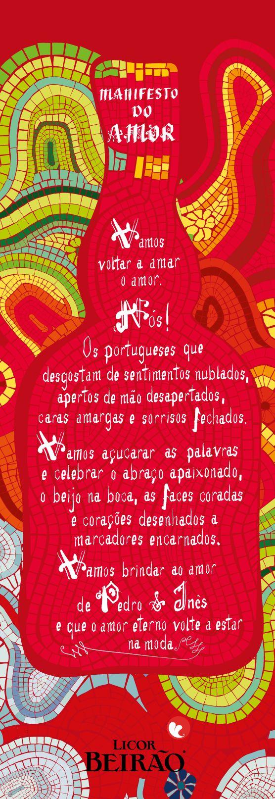 Licor Beirão - Manifesto do Amor