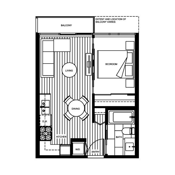 17 best ideas about condo floor plans on pinterest small for Small condo plans