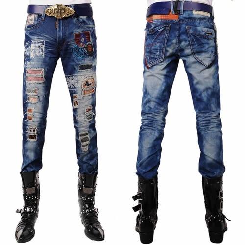Best Alternative Designer Denim Blue Punk Emo Biker Jeans Clothing SKU-11404136 *** I like all the stuff on the jeans