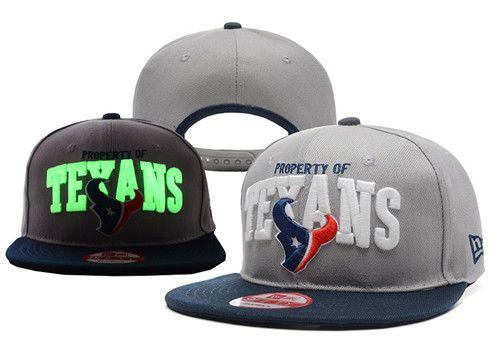 NFL Houston Texans Logo Stitched Snapback Hats 009