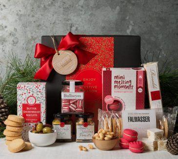 Gift Hampers from Gourmet Basket. Corporate Christmas Gift Hamper. Corporate hamper delivery. Christmas hamper.