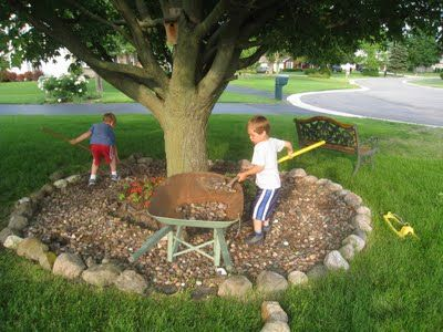 9 Best Images About Around My Tree Rocks Ideas On