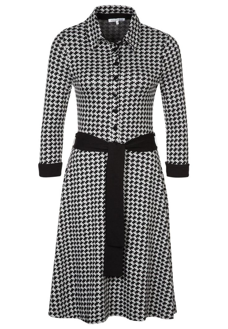 Lovely dress - Christmas dress? Anna Field Gebreide jurk - black - Zalando.nl