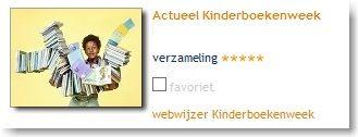 Actueel Kinderboekenweek op schoolbordportaal.nl