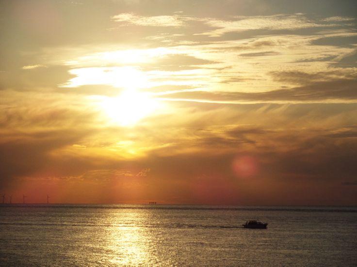 Sunset @ Westgate, UK