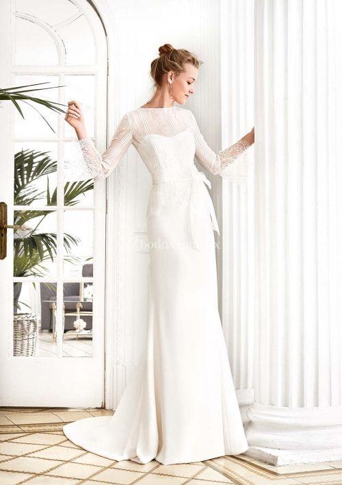 15 Tendencias En Vestidos De Novia 2019 Estas Son Las Más Ponibles Older Bridal Dresses Pinterest