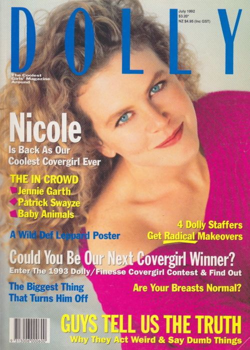 Dolly Magazine (Australia) | Nicole Kidman