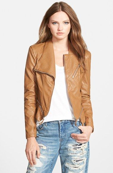 Dear stitch fix Stylist, this is the kind if jacket I had in mind. I like how it curves with the body (II don't want my waist to get hidden!), though a symmetrical collar may be better. In mushroom brown instead of camel... I hope that's not too much to ask!
